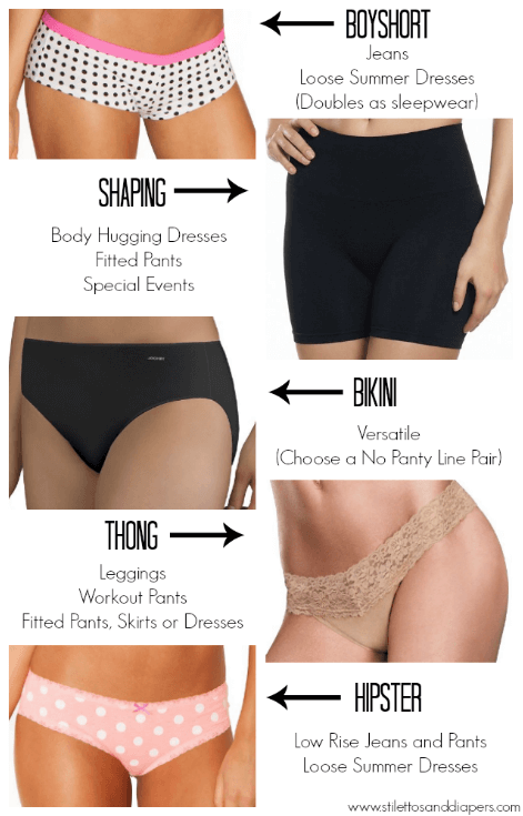 What underwear to wear with leggings, tight dresses and more!
