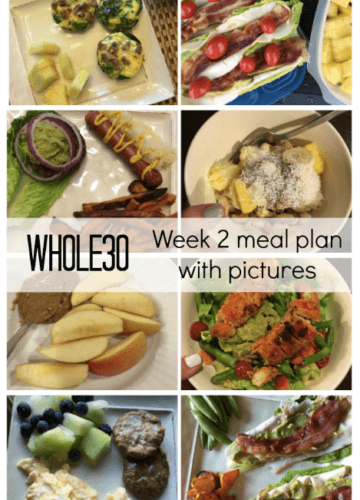 Whole30: Week 2 Progress and Meal Plan