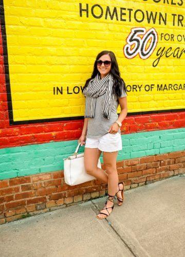 Fashion || Whites and Stripes