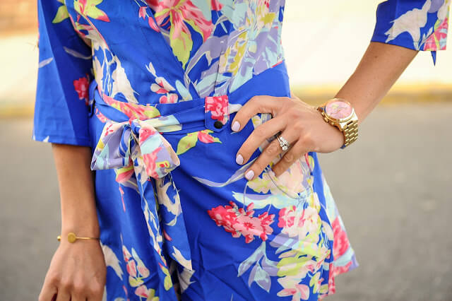 Affordable Floral Romper
