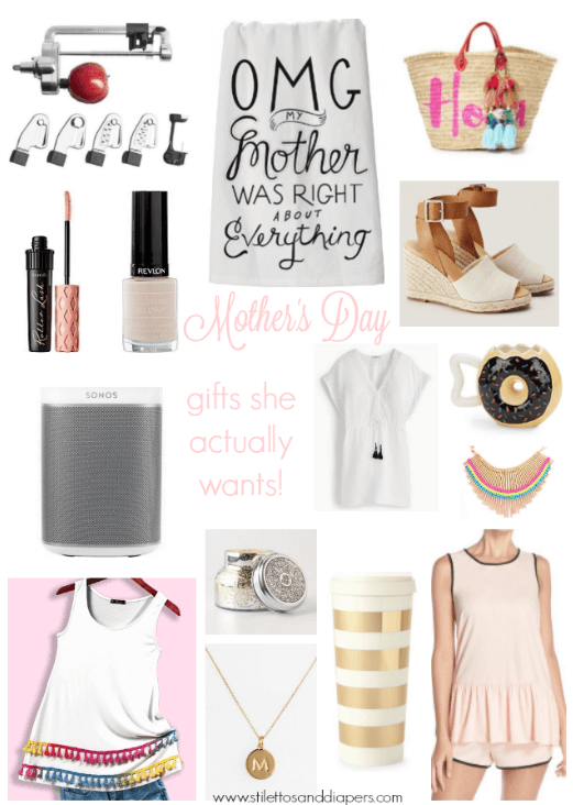 Mother's Day Gift Guide, Last Minute, Affordable, Gifts She Actually Wants