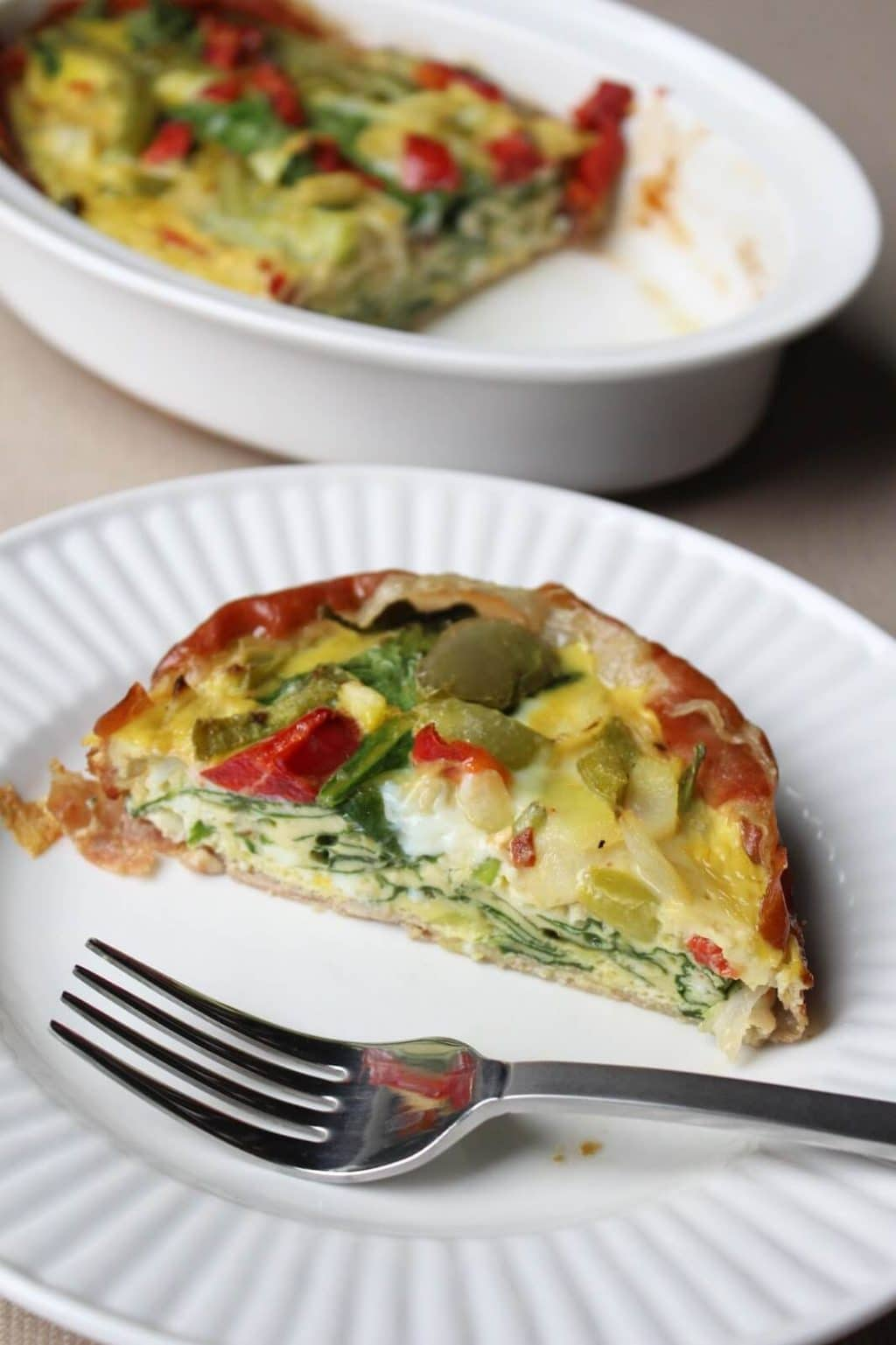 Prosciutto Egg Bake, quick Whole30 breakfast