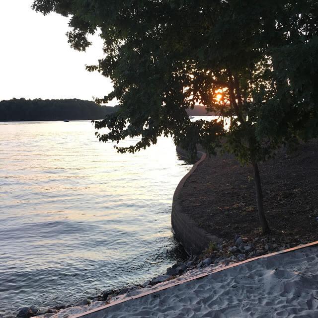Lake Norman Sunset, Blue Parrot
