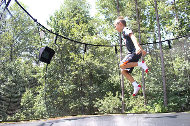 Springfree Trampoline, Charlotte location, Blakeney, tgoma outdoor gaming