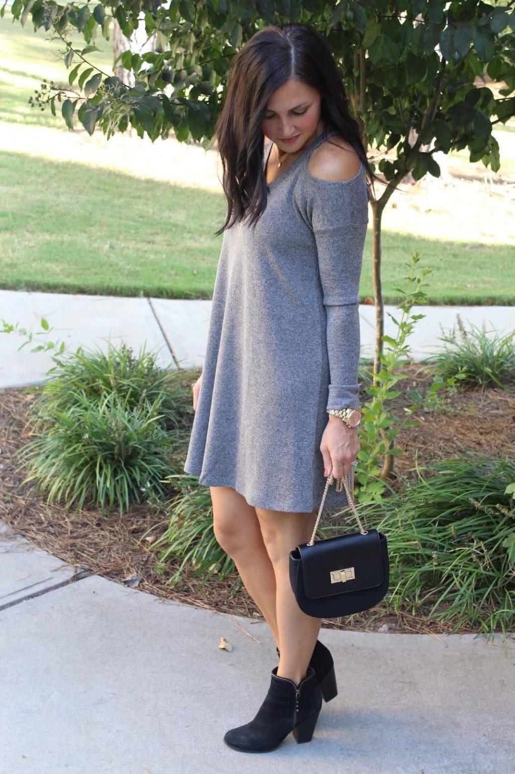 Nordstrom Cold Shoulder Sweater Dress