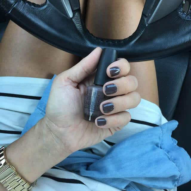 DIY Mani, Fall Nail Trend Colors, OPI You don't know jacques