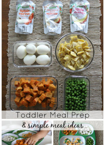 Motherhood || Toddler Meal Prepping
