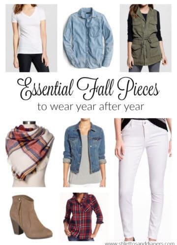 Fall Essential Pieces Every Closet Needs