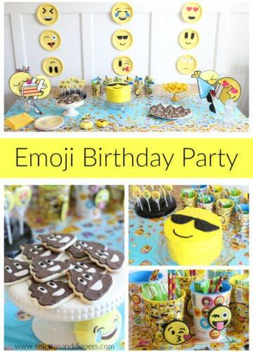 Callan's 5 Year Old Emoji Party!