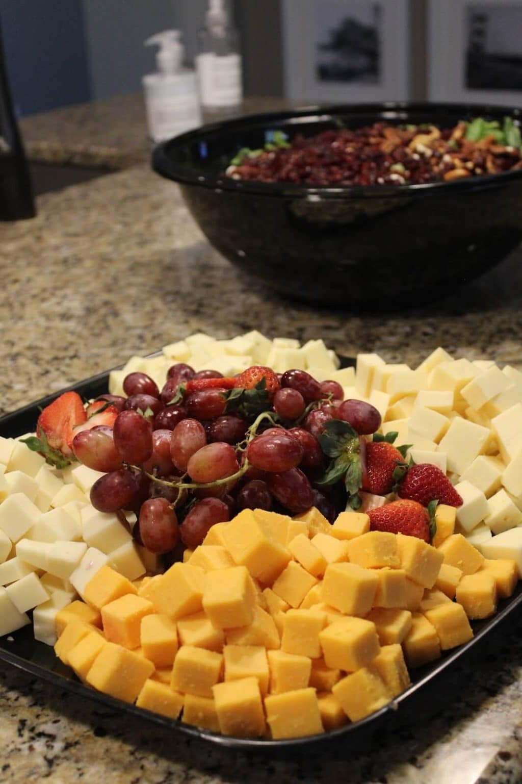 Fruit, veggies, salad, Thanksgiving catering, whole foods lake norman