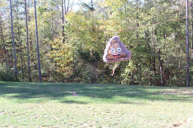 Poop Emoji pinata