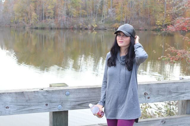 J Jill Tencel Tunic, Leather Hat