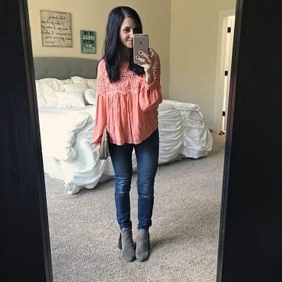 Date Night Wear, Crochet blouse