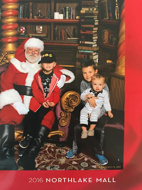 Stilettos and Diapers Northlake Mall Santa Experience