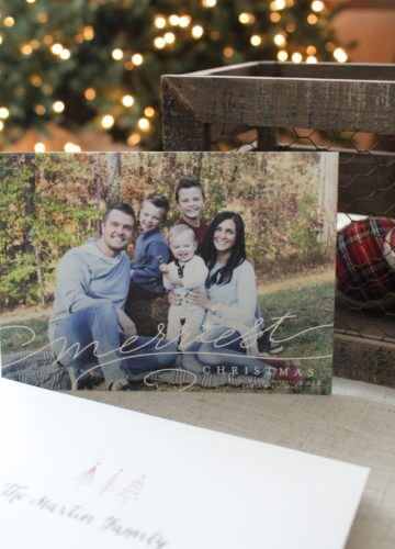 Our Christmas Cards 2016 + GIVEAWAY!