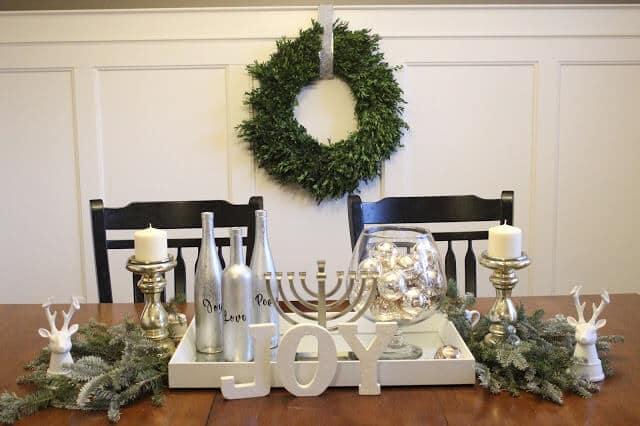 Stilettos and Diapers | Christmas Home Tour 2016 | Winter White Christmas Decor