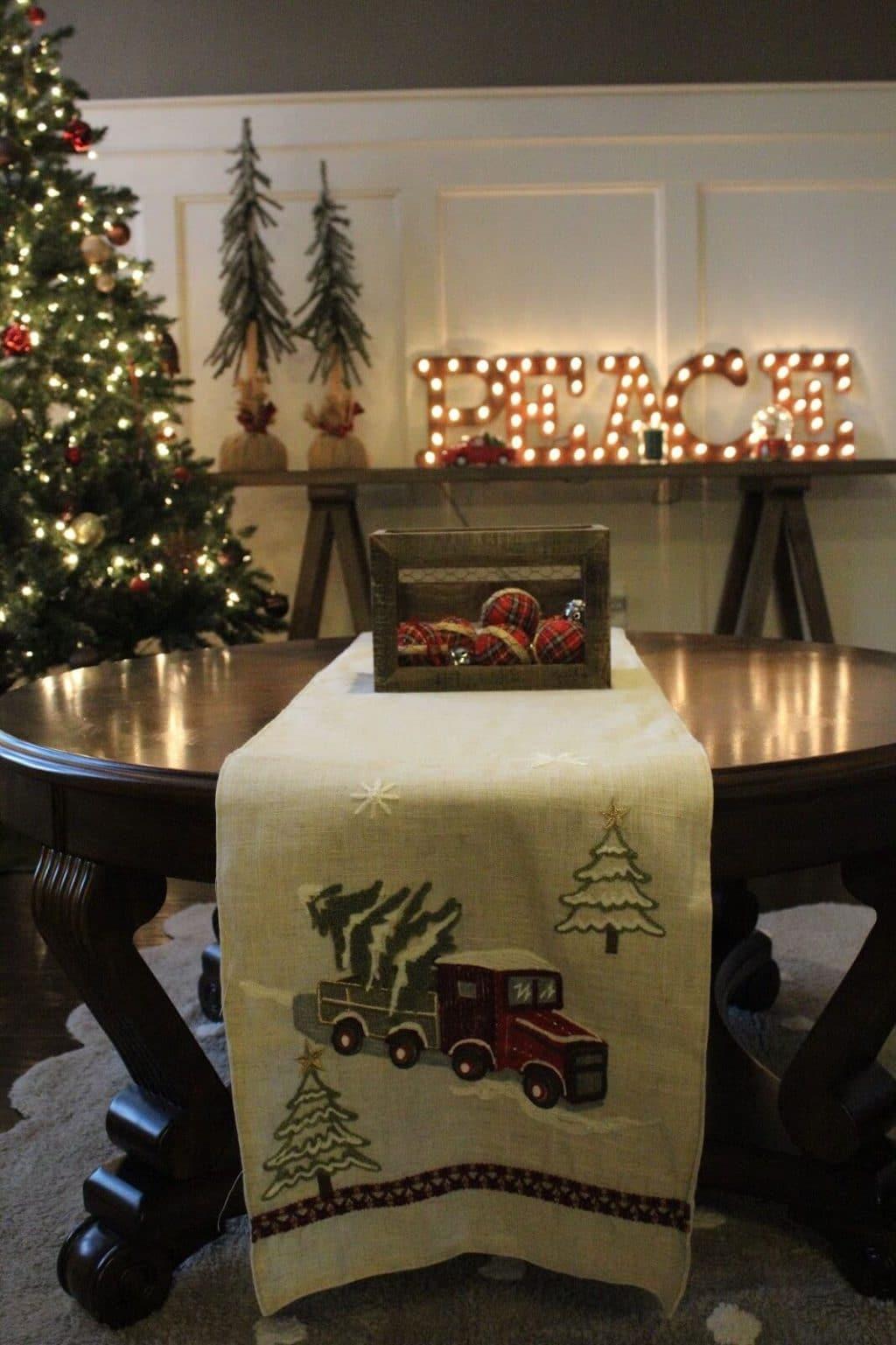Stilettos and Diapers | Christmas Home Tour 2016 | Rustic Christmas Decor
