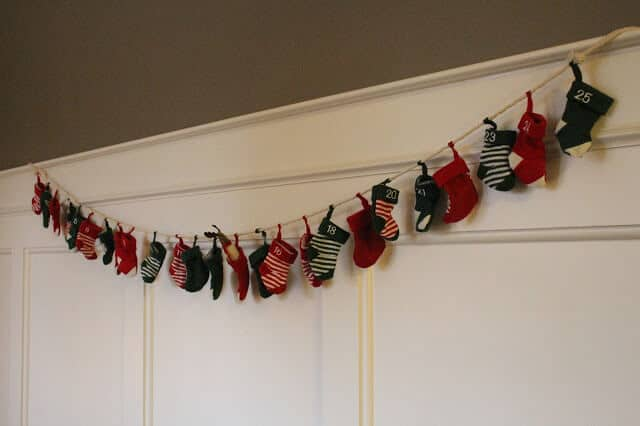 Stilettos and Diapers | Christmas Home Tour 2016 | Stocking Countdown Banner