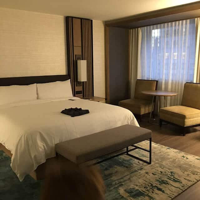 Charlotte Marriott City Center, Suite Bedroom