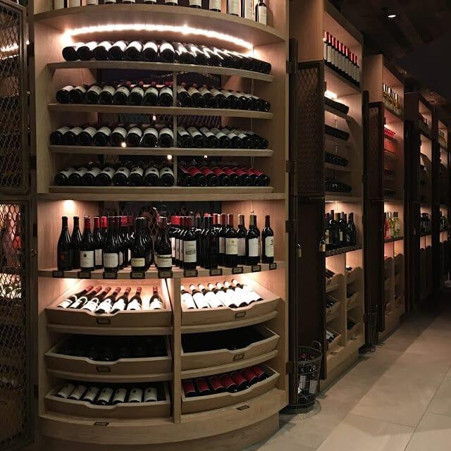 Charlotte Marriott City Center, Wine Bar, Stoke