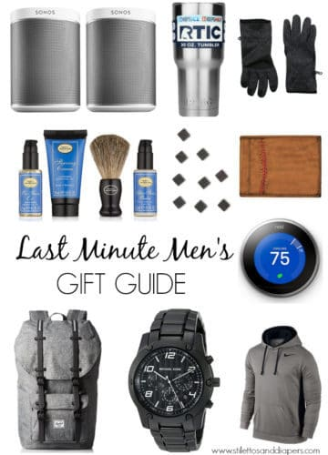 Men's Last Minute Gift Guide