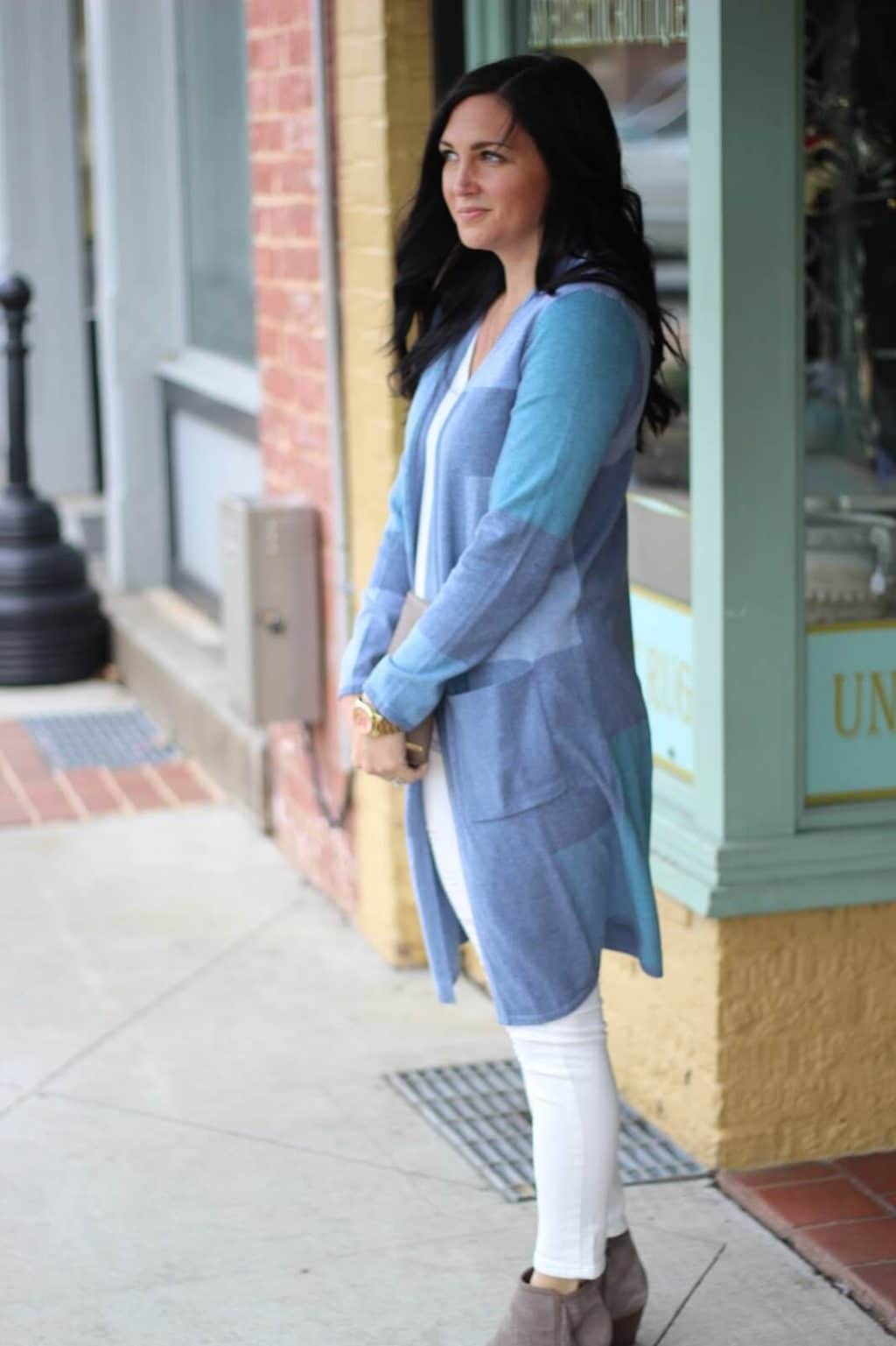 Spring Transition Outfit idea, JJill Style