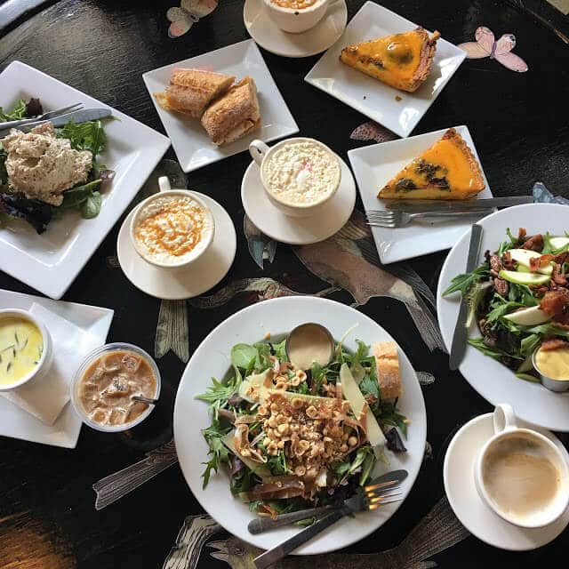 Amelies uptown Charlotte review, best lunch spots in Charlotte, NC