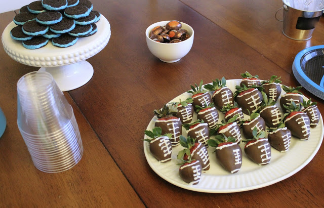 Super Bowl Party Foods and Desserts