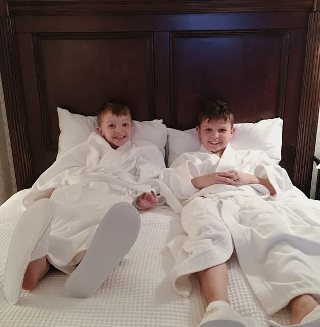 The Biltmore with kids, Asheville, NC