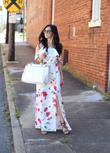 Spring Easter Maxi Dress