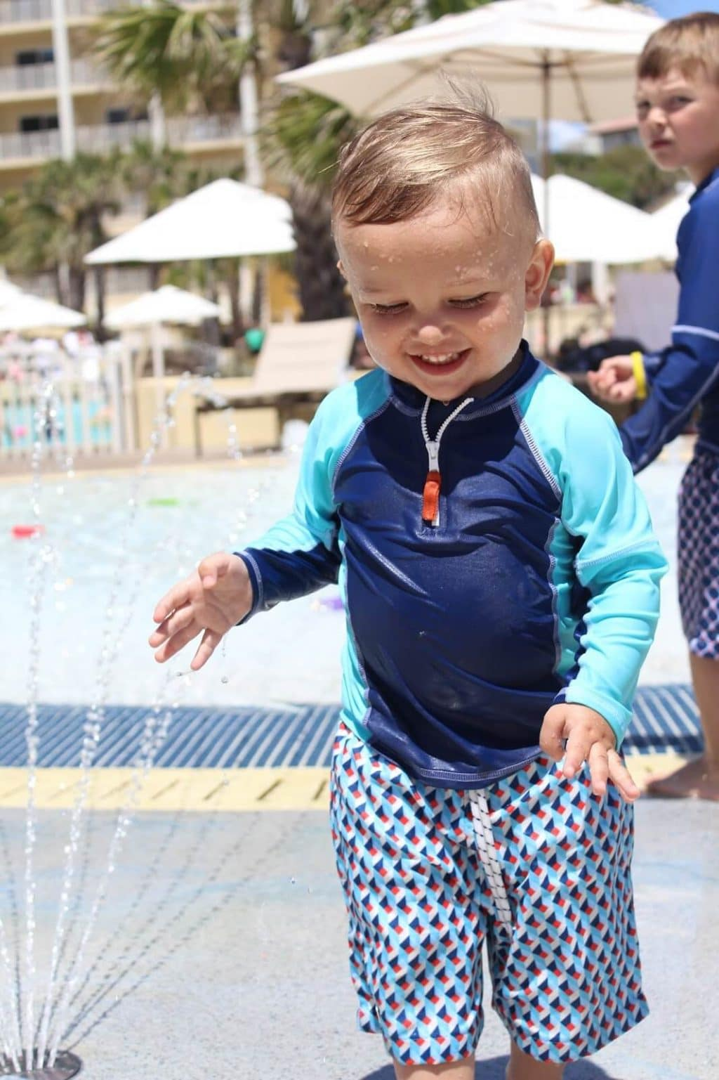 Omni Amelia Island Plantation Splash Pad, Stilettos and Diapers