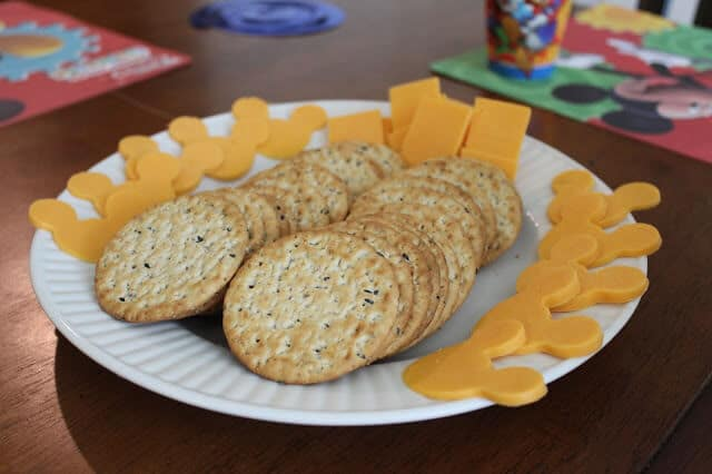 Mickey Mouse Clubhouse party food ideas