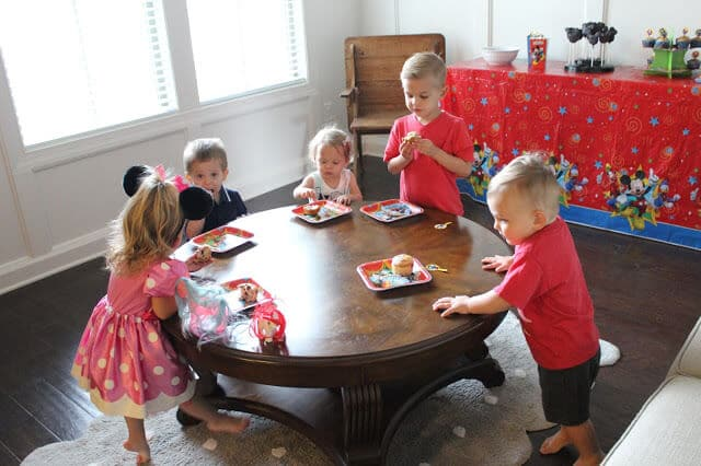 Stilettos and Diapers #DisneyKids Mickey Mouse Clubhouse party ideas, tips, food