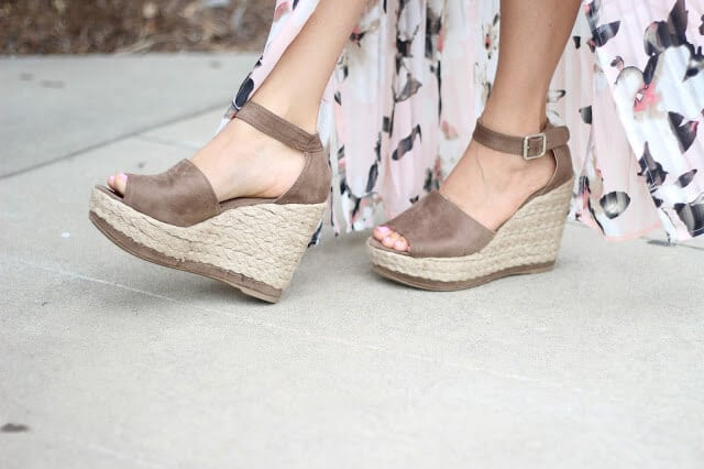 Espadrille wedge dupes, Stilettos and Diapers