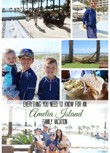 Amelia Island Family Vacation Tips