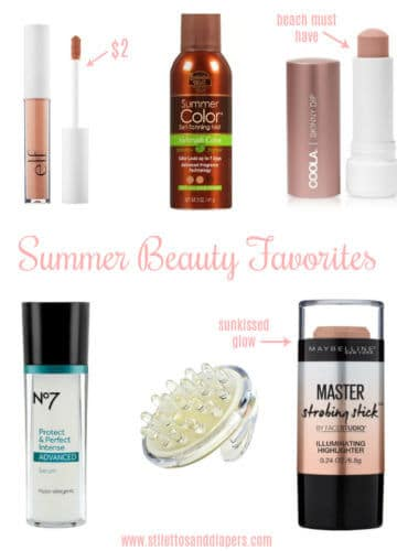 Summer Beauty Favorites (budget friendly!)
