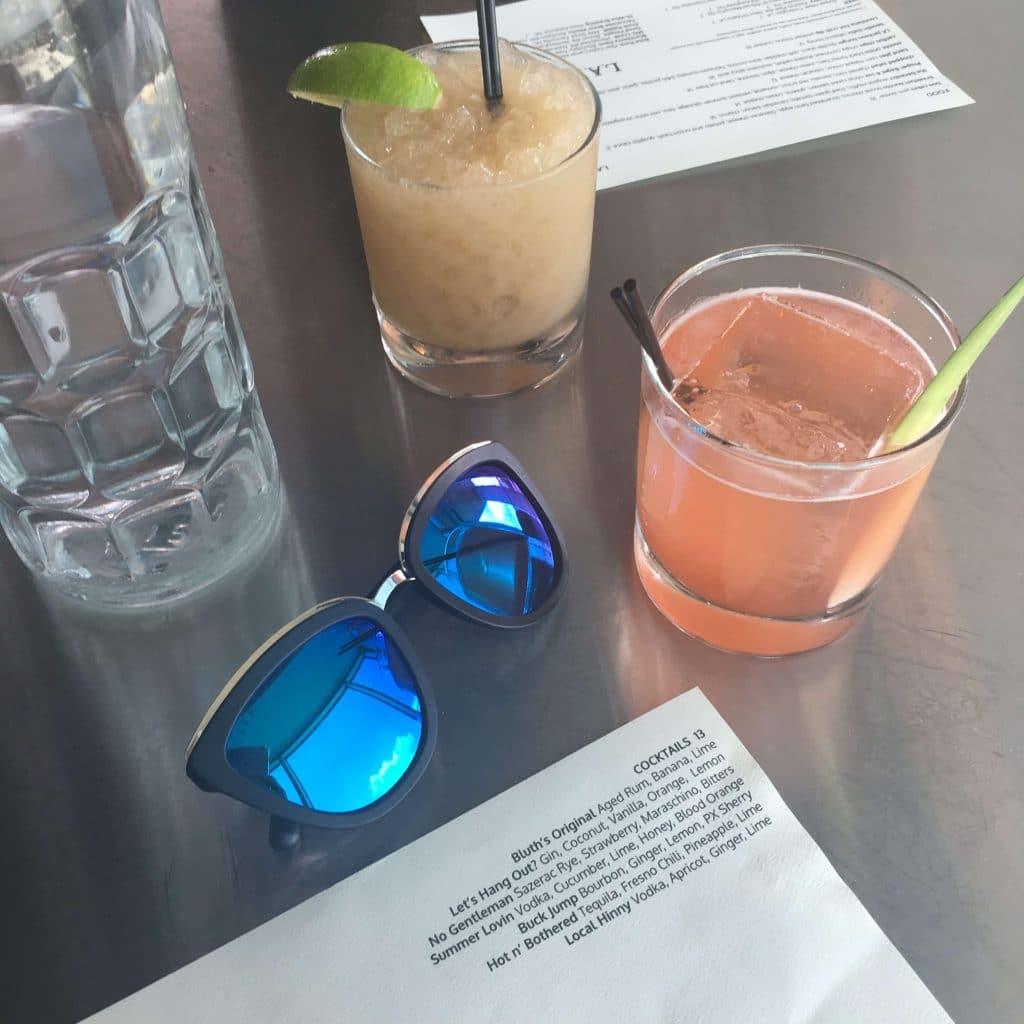 Thompson Hotel Nashville, TN, cocktails