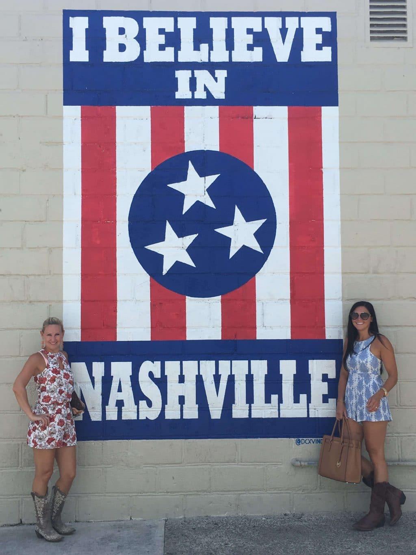 12 South I Believe In Nashville Mural