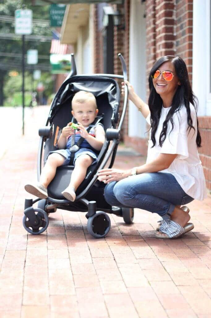 Quinny Zapp Flex, Stilettos and Diapers, perfect travel stroller