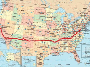 The mother of all road trips.