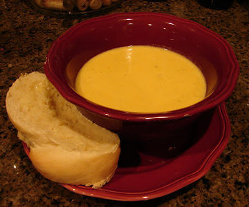Hearty Butternut Squash Soup {Recipe}