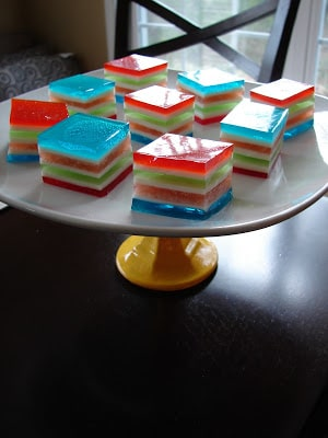 Rainbow Jello – {RECIPE}