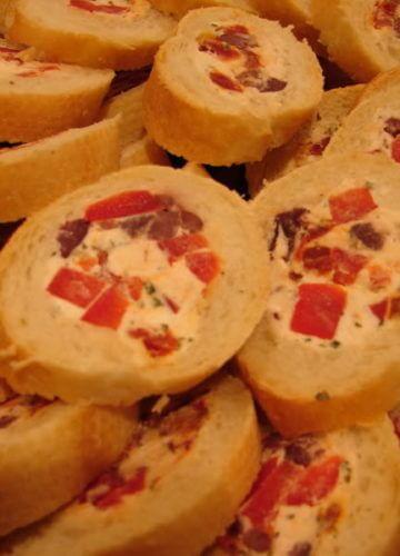 Stuffed Baguette Appetizer {RECIPE}
