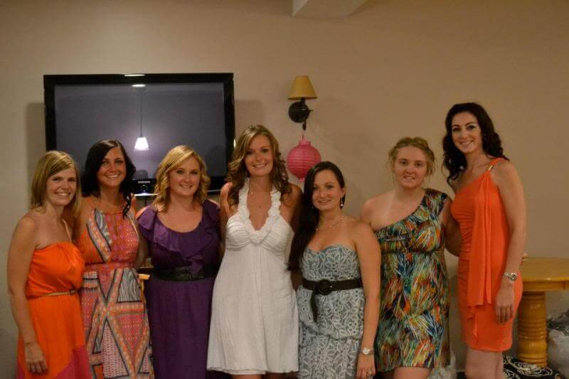 Tropical Bridal Shower via Stilettos and Diapers