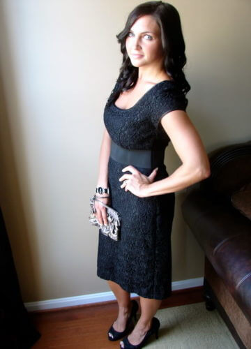 Black and Lacy Date Night {A Fashion Post}