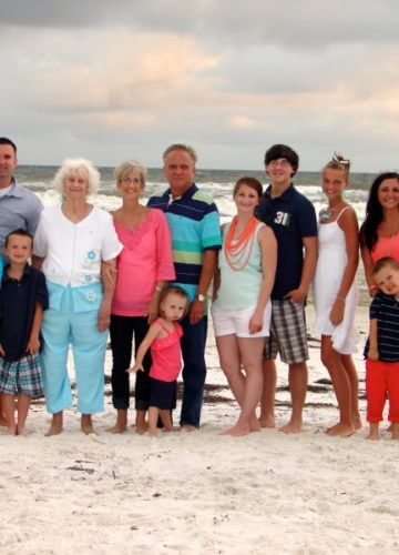 Last beach post: Our family pictures