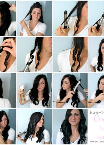 Hair How-to: Curling Iron Waves