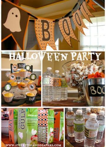 Halloween Playgroup Fun and Printables!