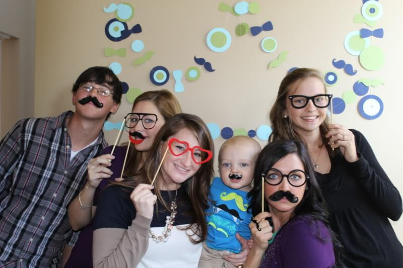 Little Man Mustache Bash 1st Birthday via Stilettos and Diapers
