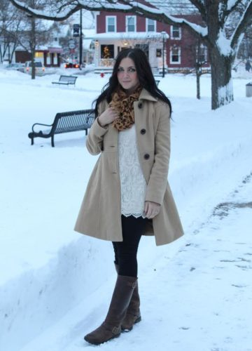 Snow + Neutrals (A Fashion Post)